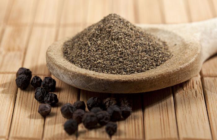 Foods For Healthy Skin - Black Pepper
