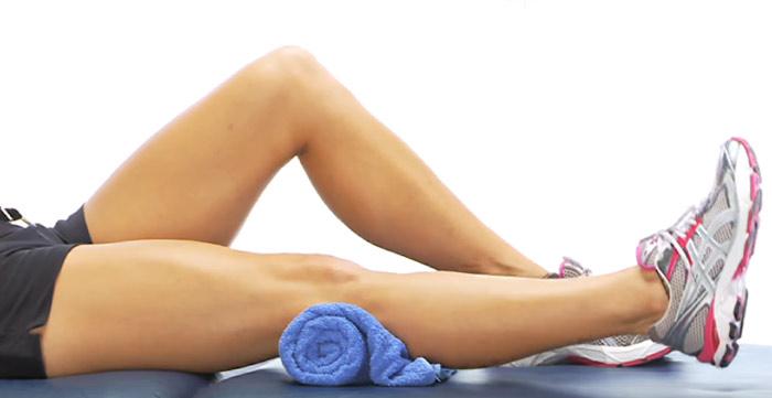 Isometric Exercises For The Legs - Isometric Quads