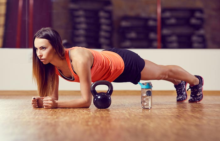 Isometric Exercises For The Abs - Forearm Plank