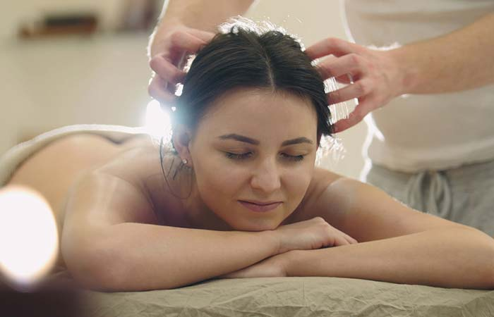 2. Hot Oil Treatment For Hair Straightening