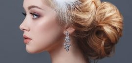 20 Best Hairstyles For Brides With Round Face