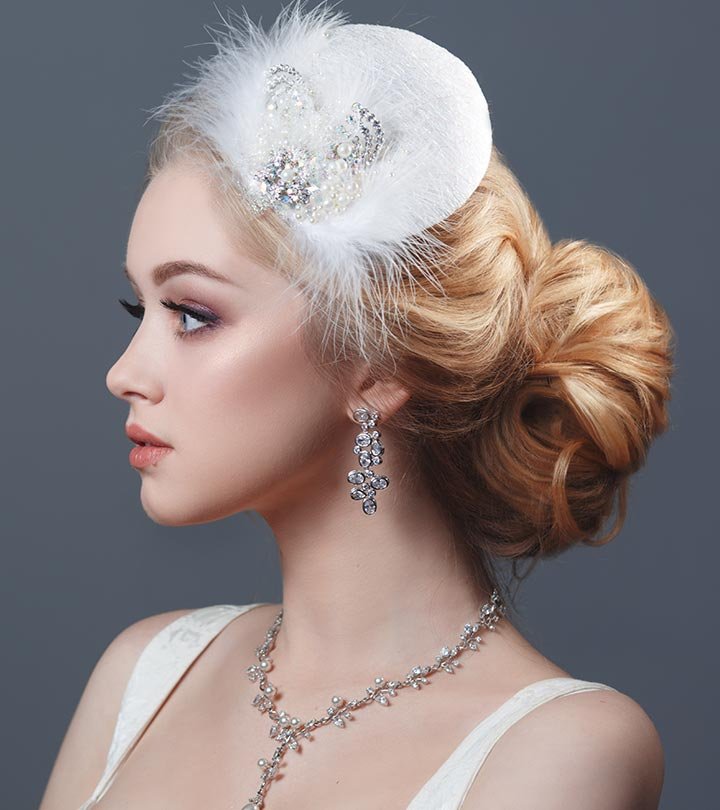 20 best hairstyles for brides with round faces 20 best hairstyles for brides with round face junglespirit Image collections