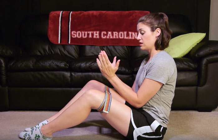 Isometric Knee Exercise
