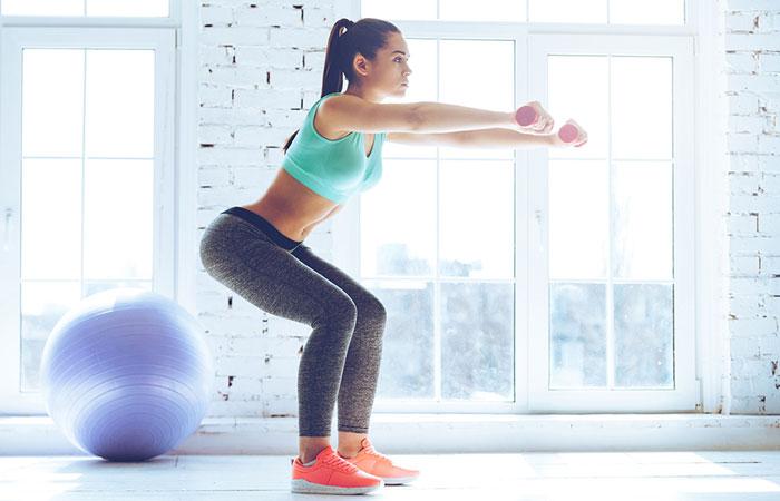 Isometric Knee Exercise - Squat Hold