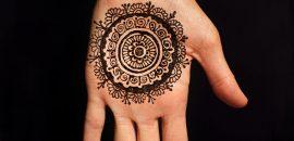 10 Round Mehndi Designs You Should Definitely Try