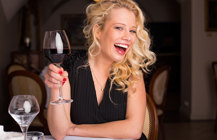 Foods For Healthy Skin - Red Wine