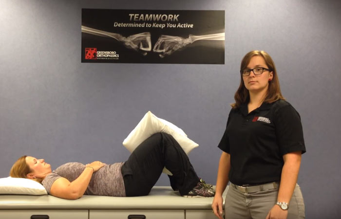 Isometric Exercise For The Glutes - Hip Adduction