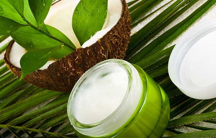 3. Coconut Oil And Egg For Hair Growth