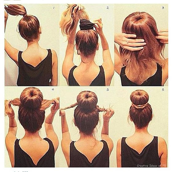 40-Stylish-Updos-For-Medium-Hair15