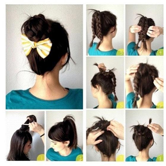 40-Stylish-Updos-For-Medium-Hair17