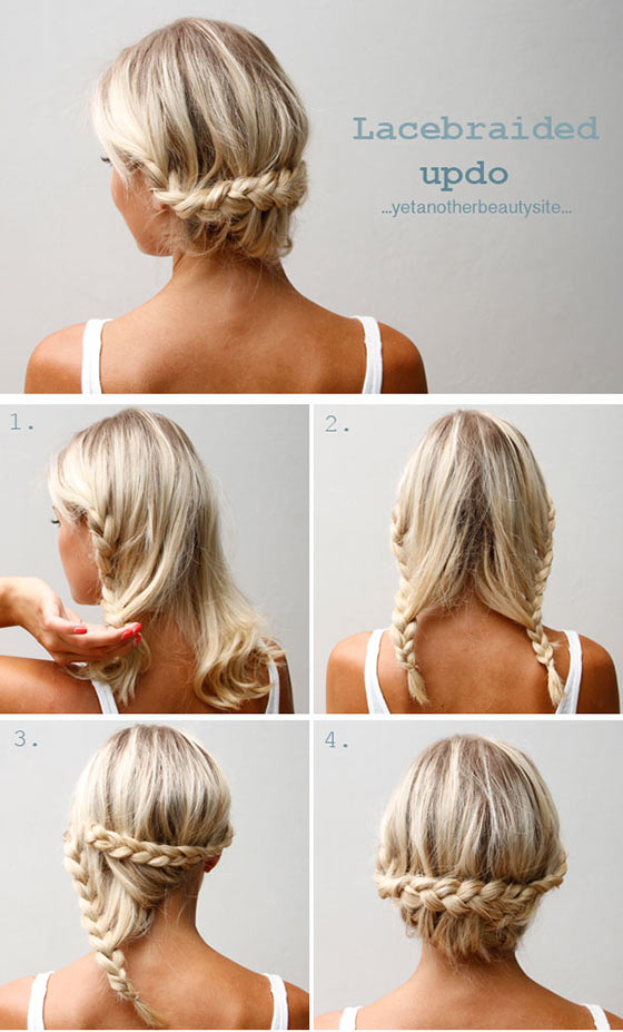 40 quick and easy updos for medium hair 40 stylish updos for medium hair27 pinit solutioingenieria Choice Image