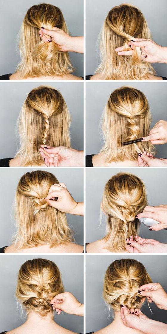 40-Stylish-Updos-For-Medium-Hair35