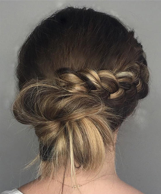 40-Stylish-Updos-For-Medium-Hair41
