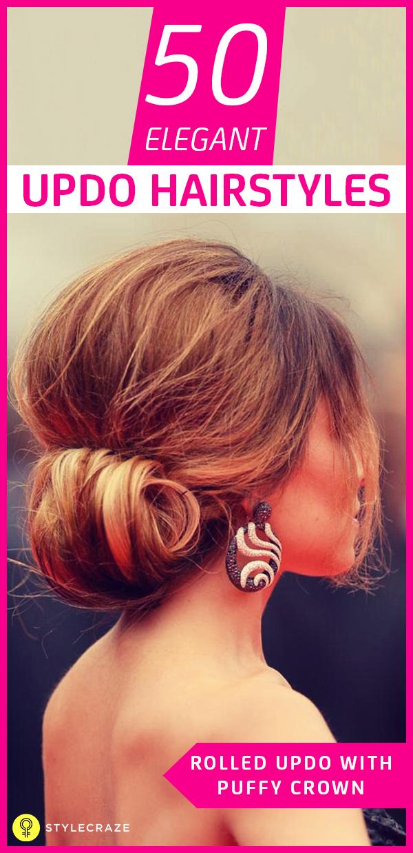 50 elegant updo hairstyles