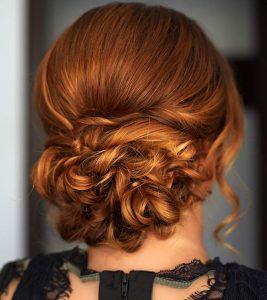 40 Stylish Updos For Medium Hair