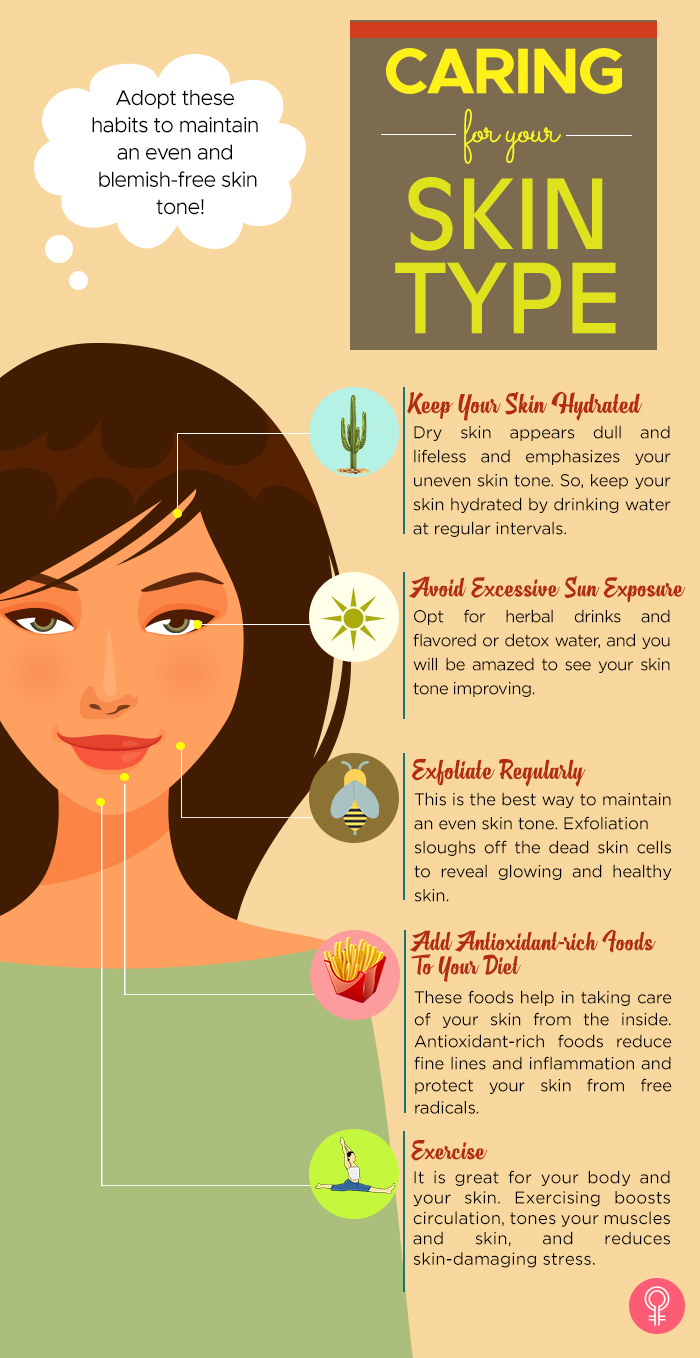 Caring for your skin type