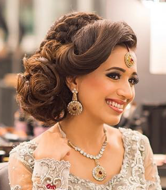Updos for indian wedding