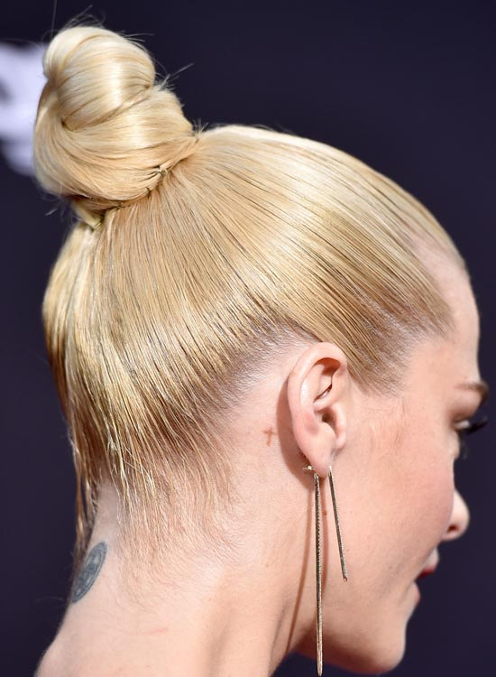2. Easy And Convenient Ballet Bun. Bun Hairstyles For Long Hair ...