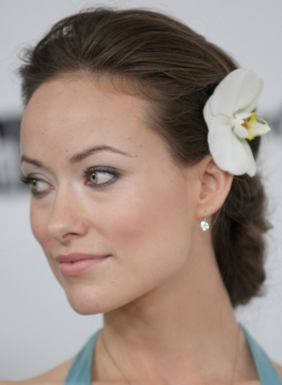 Bun Hairstyles For Long Hair - Elongated-Bun-with-Puffy-Rolled-Back-Top