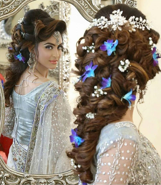 Indian Bridal Hairstyle