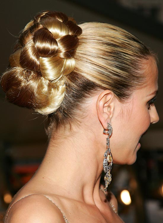 Bun Hairstyles For Long Hair   Gigantic Half N Half Bun  Pinit