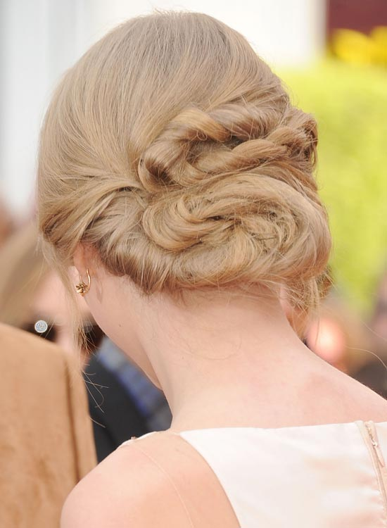 Bun Hairstyles For Long Hair - Highly-Twisted-Low-Bun