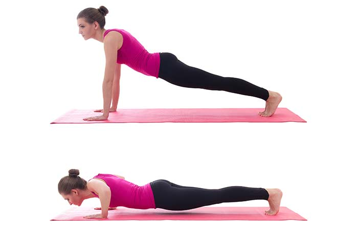 Lose Fat From Arms - Push-Ups