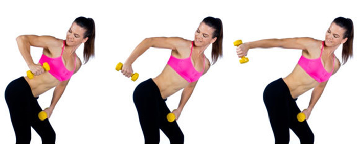 Lose Fat From Arms - Upright Row