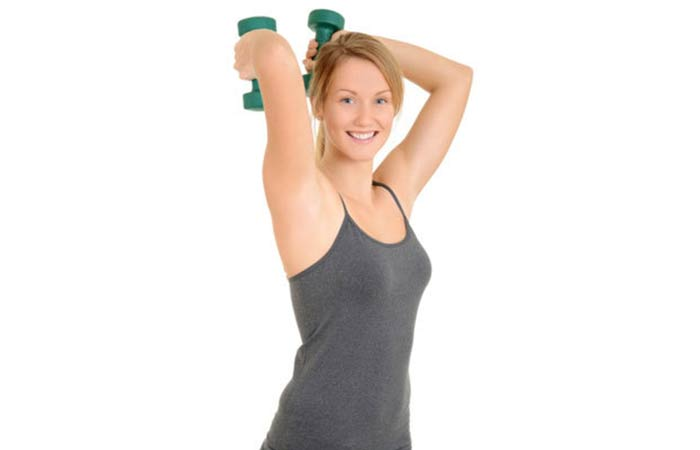 Lose Fat From Arms - Triceps Press