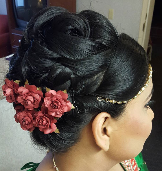 Intricate-Floral-Updo