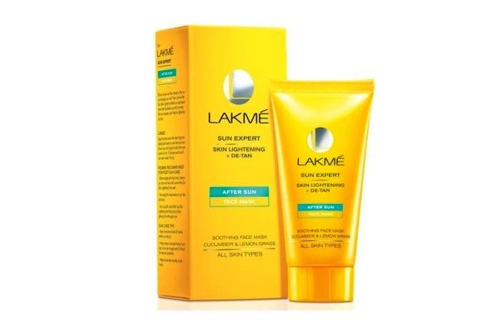 Lakme Sun Expert After Sun Skin Lightening + De-Tan Face Mask