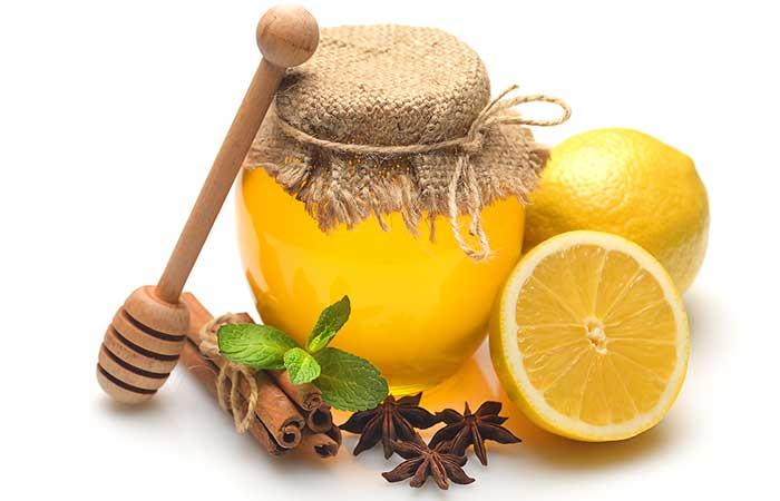 Lemon, Honey, Nutmeg, And Cinnamon Mask
