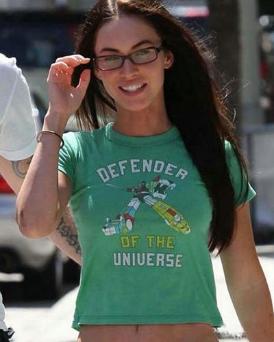 Megan Fox - Defender of The Universe