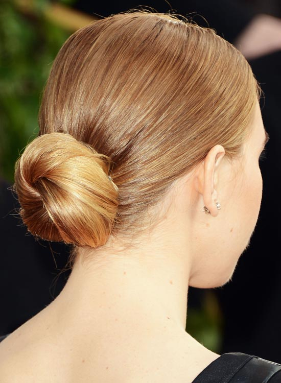 Low-Small-Twisted-Bun-on-Beige-Blonde-Hair