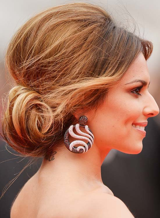 Elegant Bun Hairstyles For Long Hair   Messy Low Rolled Up Bun  Pinit