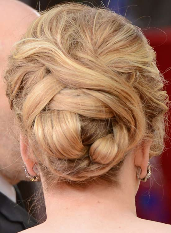 Messy-Updo-with-Multiple-Swept-Strands