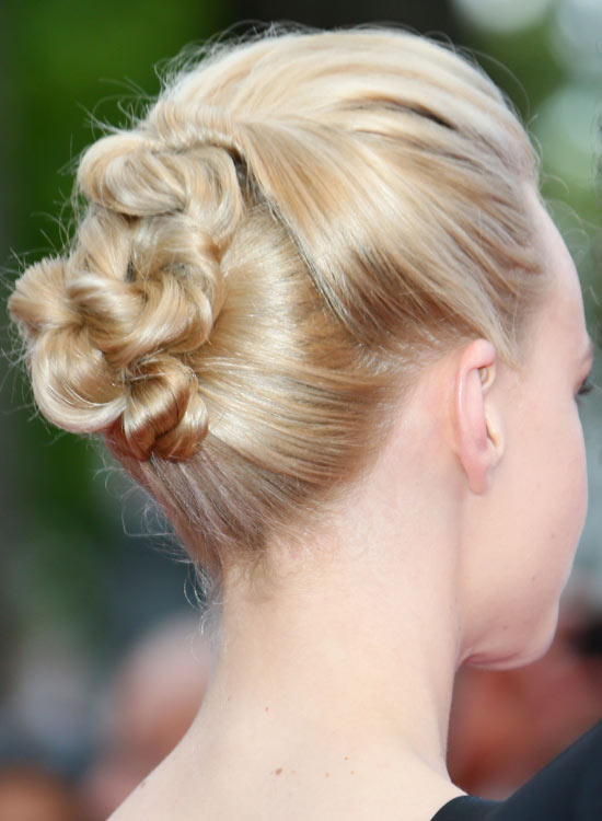 Smart-Twisted-Updo-with-Volumized-Top