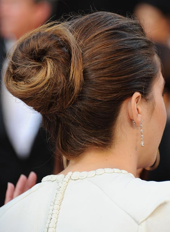 Bun Hairstyles For Long Hair - Spiral-Bun