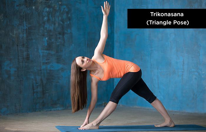 Trikonasana (Triangle-Pose) - Yoga for Increasing Height