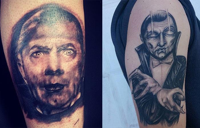 Vampire Tattoo Designs