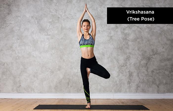 Vrikshasana (Tree-Pose) - Yoga for Increasing Height