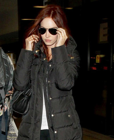 Megan Fox Without Makeup in Airport