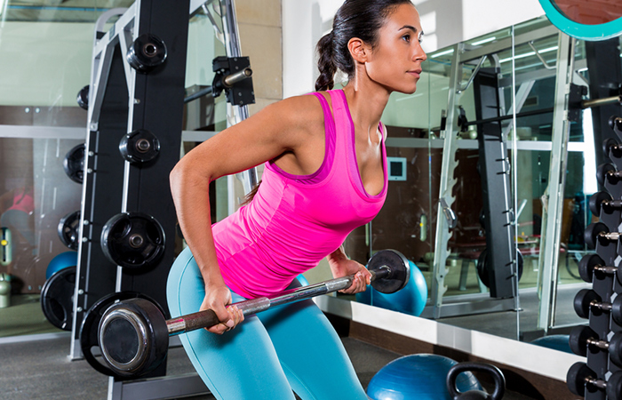 Triceps Exercises - Bent Over Row