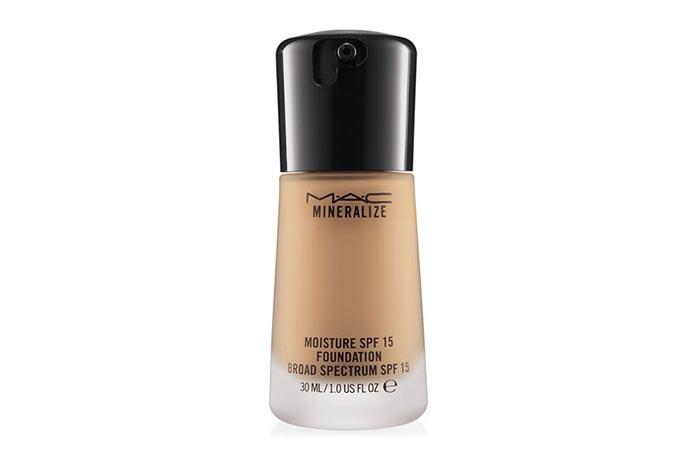 12. MAC Cosmetics Mineralize Moisture SPF 15 Foundation