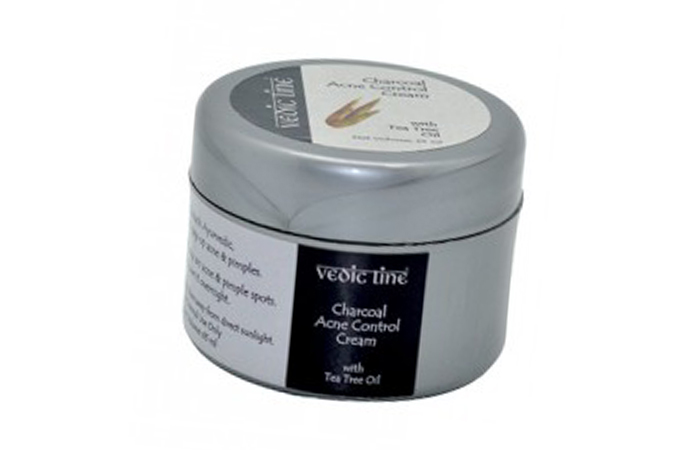 Acne And Pimple Creams - Vedic Line Charcoal Acne Control Cream