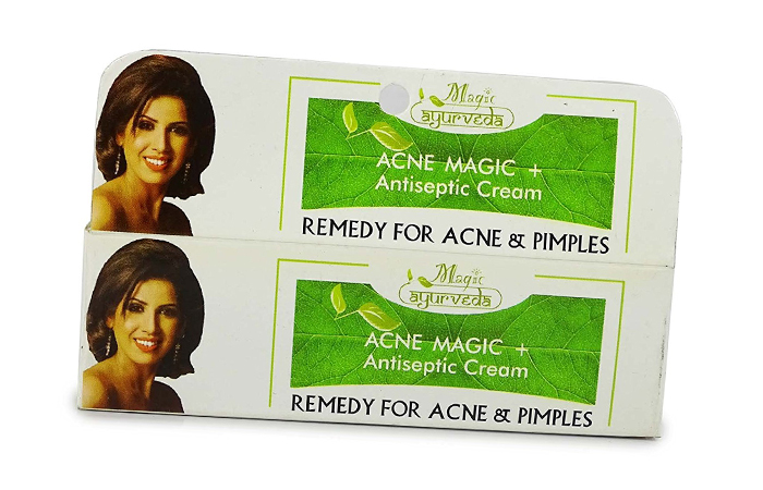 Acne And Pimple Creams - Nature's Essence Acne Magic Antiseptic Cream