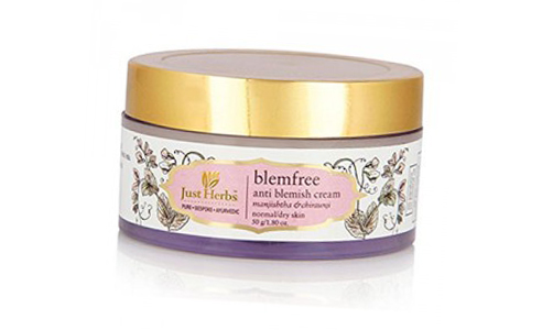 Acne And Pimple Creams - Just Herbs Blemfree Anti Blemish Cream