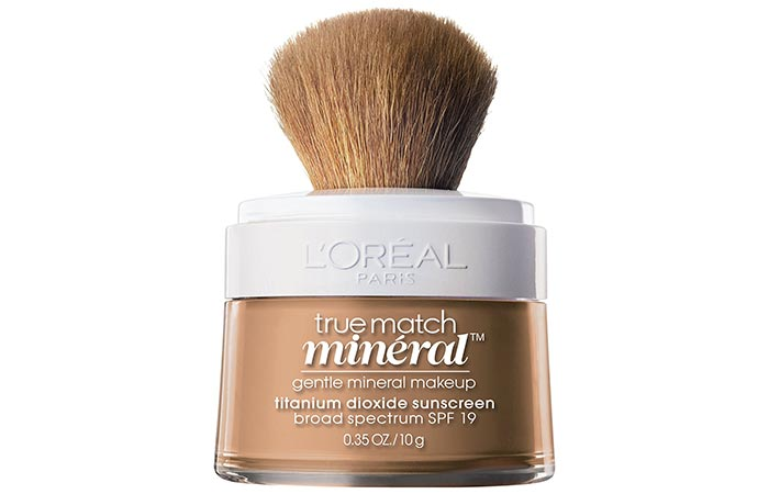 2. L'Oreal True Match Naturale Powdered Mineral Foundation SPF 19