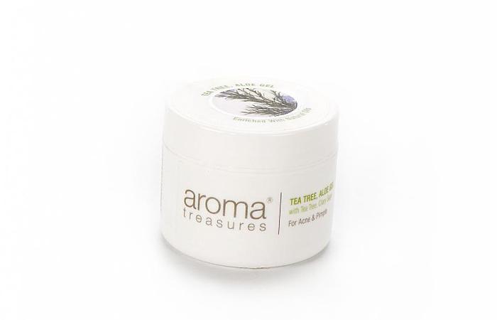 Acne And Pimple Creams - Aroma Treasures Tea Tree Aloe Gel