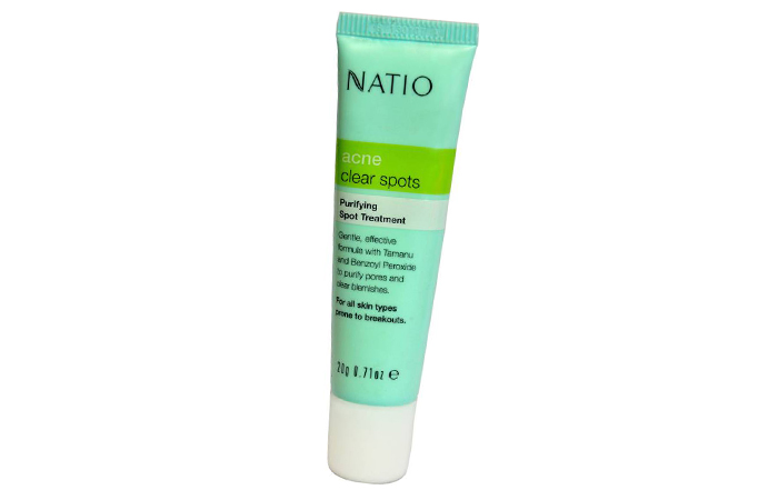 Acne And Pimple Creams - Natio Acne Clear Spots Antibacterial Treatment